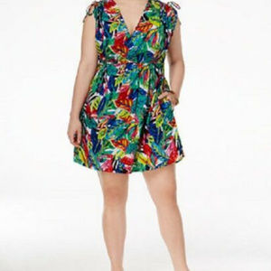 NWT! RALPH LAUREN TROPICAL SWIMSUIT COVER UP NEW!
